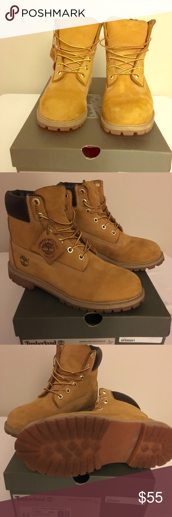 Kids' Clothes, Shoes & Accs. Kids Timberland Boots Size 6.5 Clothes, Shoes & Accessories