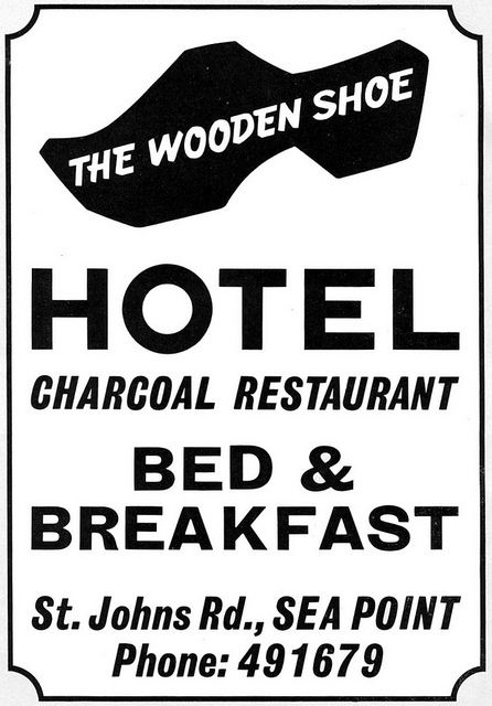 Ad Wooden Shoe Restaurant Sea Point Cape Town History South