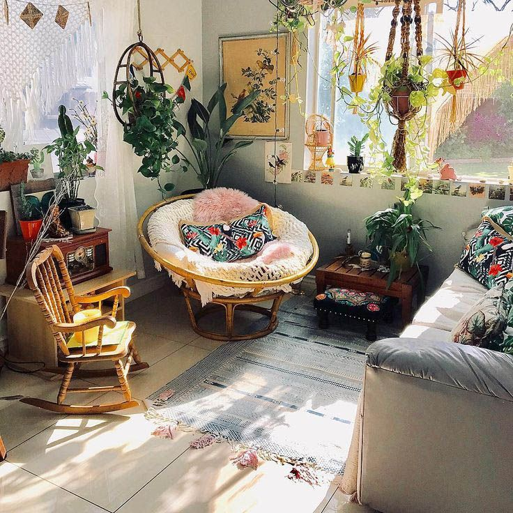Motivating Bohemian Decorating Ideas For Living Room images