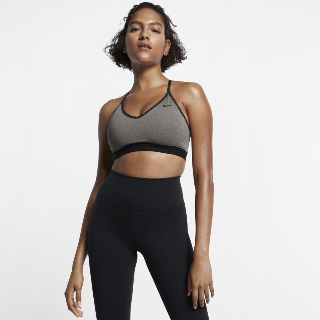 2e3f99ebf5 Nike Indy Women's Light-Support Sports Bra Size 2XL (Carbon Heather ...