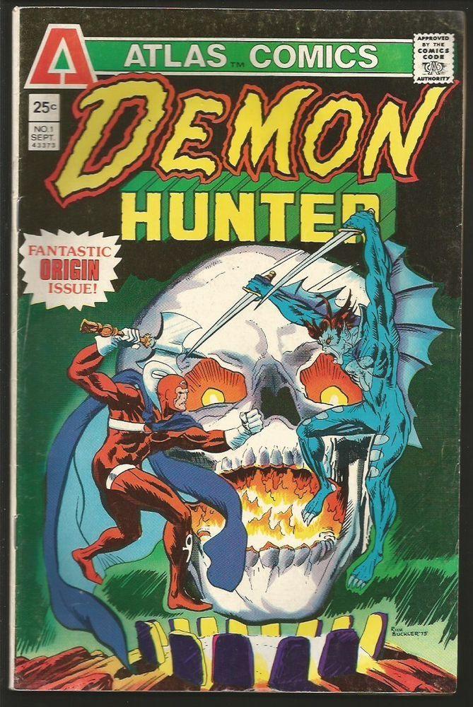 DEMON HUNTER #1 Atlas Comics 1975 Rich Buckler, Kraft 1st print