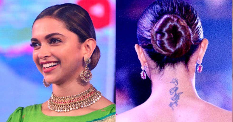 How to master Deepika Padukone's classic sleek bun   Sleek ...