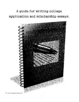 How to write a college application essay high school