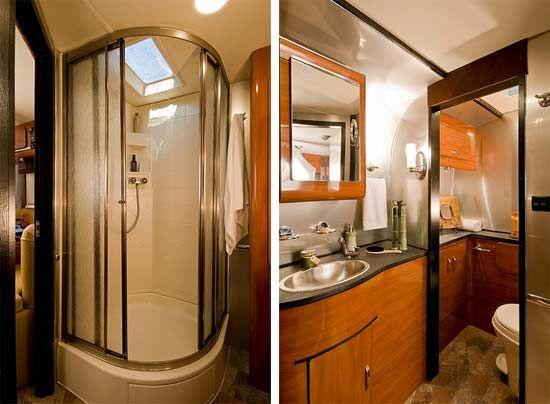 Earthbound Travel Trailer Interior Bathroom Features Morrison - Small travel trailers with bathroom for bathroom decor ideas