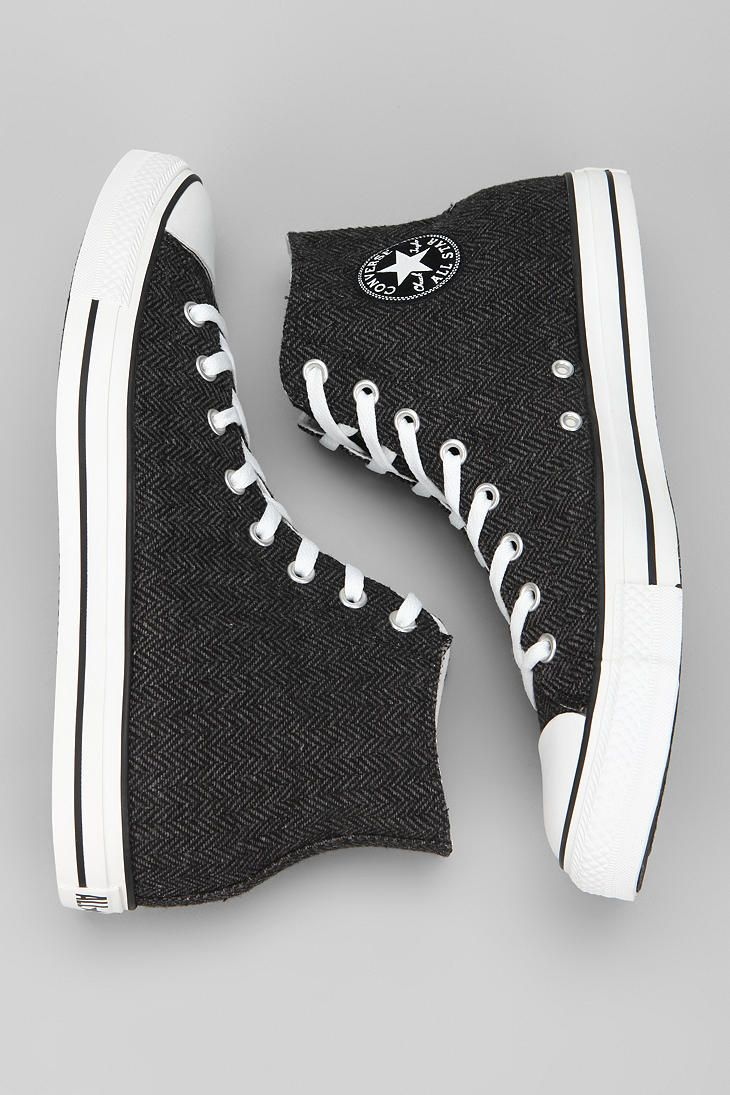 86586465 Converse Chuck Taylor All Star Herringbone High-Top Sneaker #UrbanOutfitters