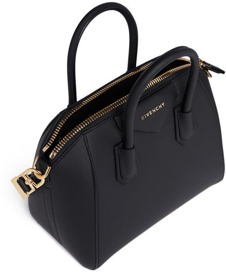 574c3002ba01 Givenchy  Antigona  Small Rubberised Pvc Bag in Black