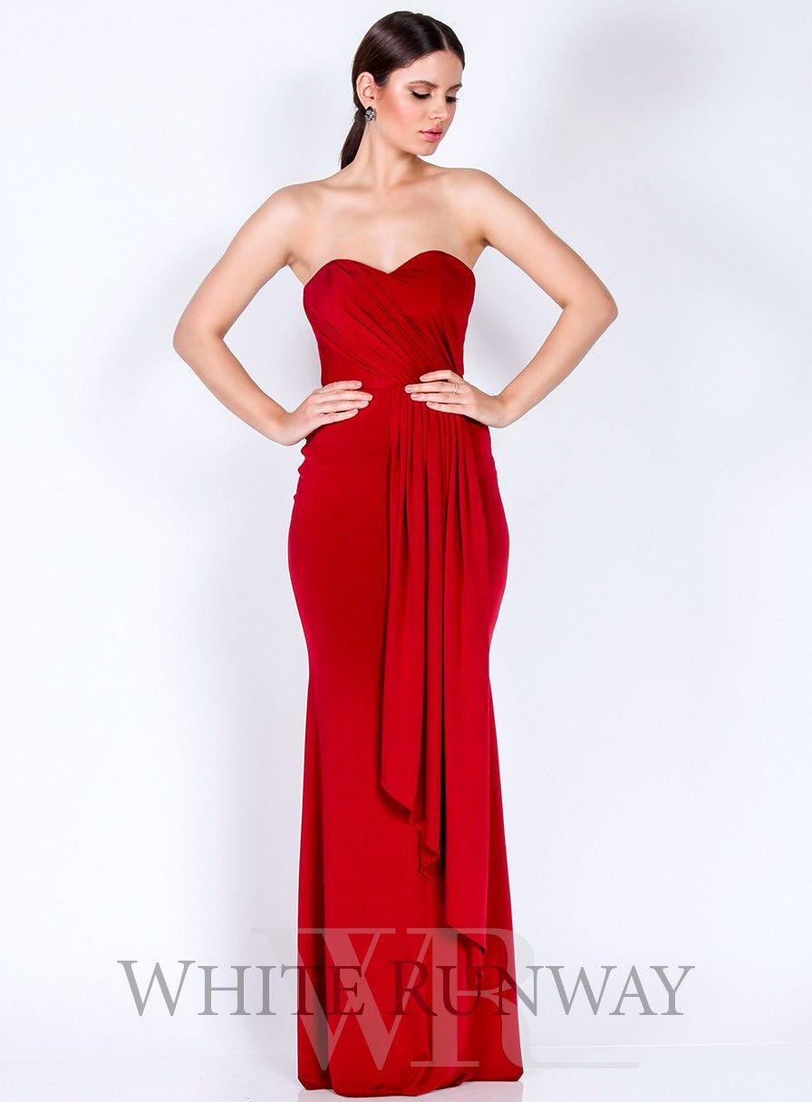 Scarlette Dress By Pia Gladys Perey Formal Bridesmaids Dresses Strapless Dress Formal Dresses [ 1216 x 896 Pixel ]