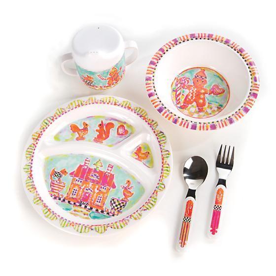Toddleru0027s Dinnerware Set - Gingerbread  sc 1 st  Pinterest & Toddleru0027s Dinnerware Set - Gingerbread | baby stuff | Pinterest