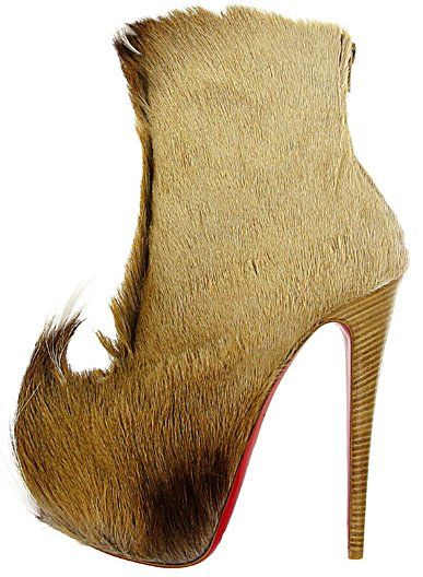 8d613de8dd4 Christian Louboutin...ok they are Louboutins.... would you wear them      Hell NO!