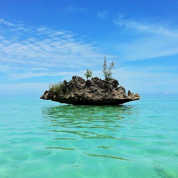 Rock on Sea   Mauritius