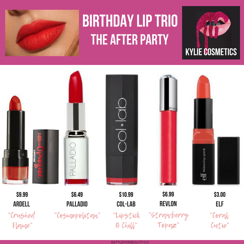 Here are the best 2018 drugstore dupes for the Kylie