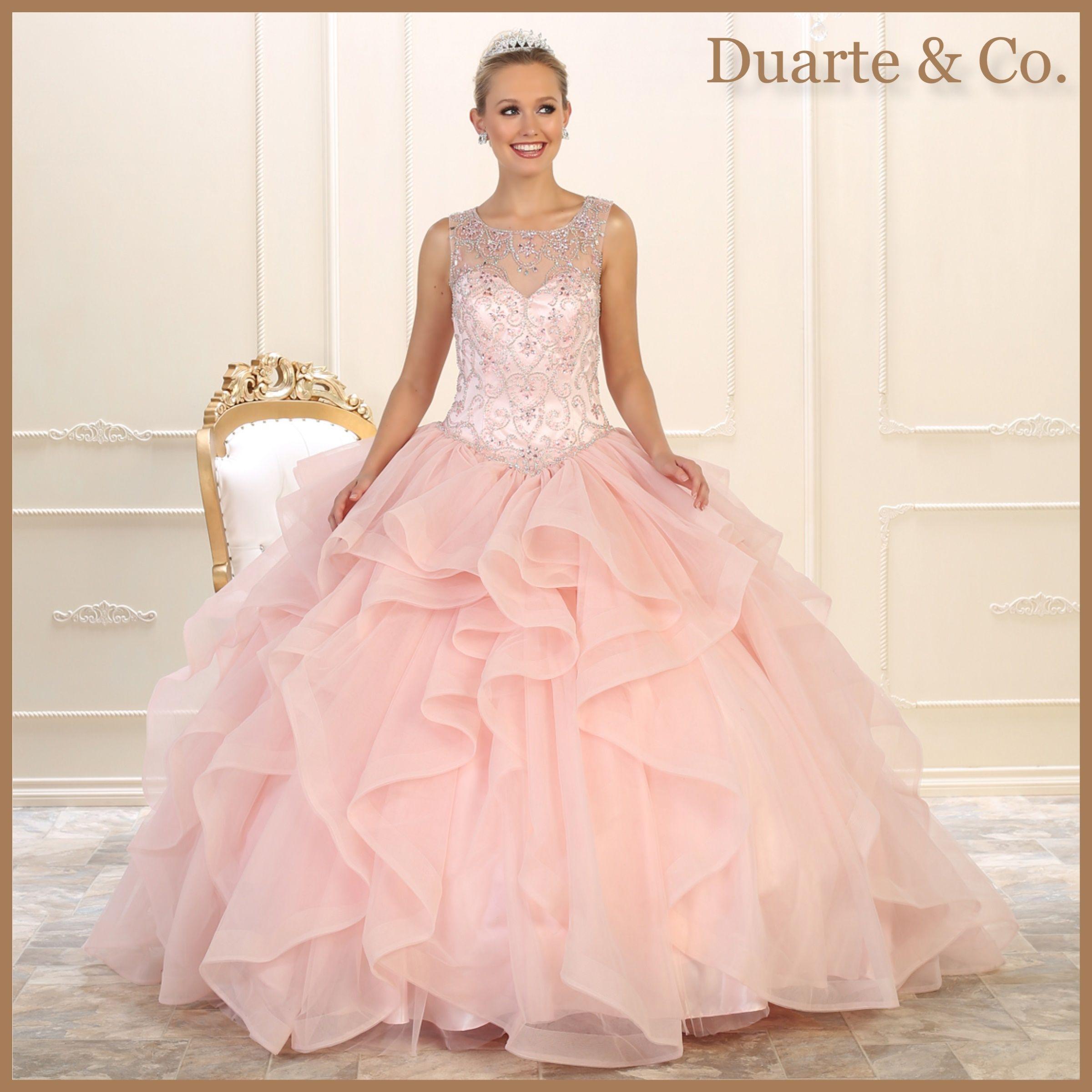 Sleeveless Quinceanera/Sweet 16 Gown- LK105 | Best Ones | Pinterest ...