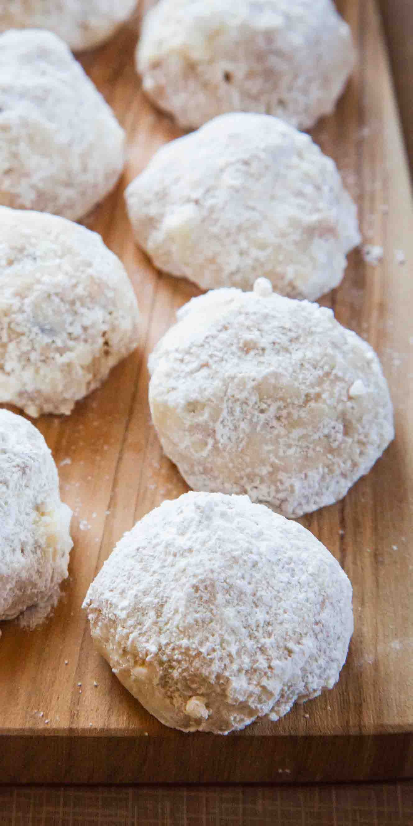 Mexican Wedding Cookies Recipe Simplyrecipes Com Recipe Mexican Wedding Cookies Recipes Tea Cakes Wedding Cookies Recipe