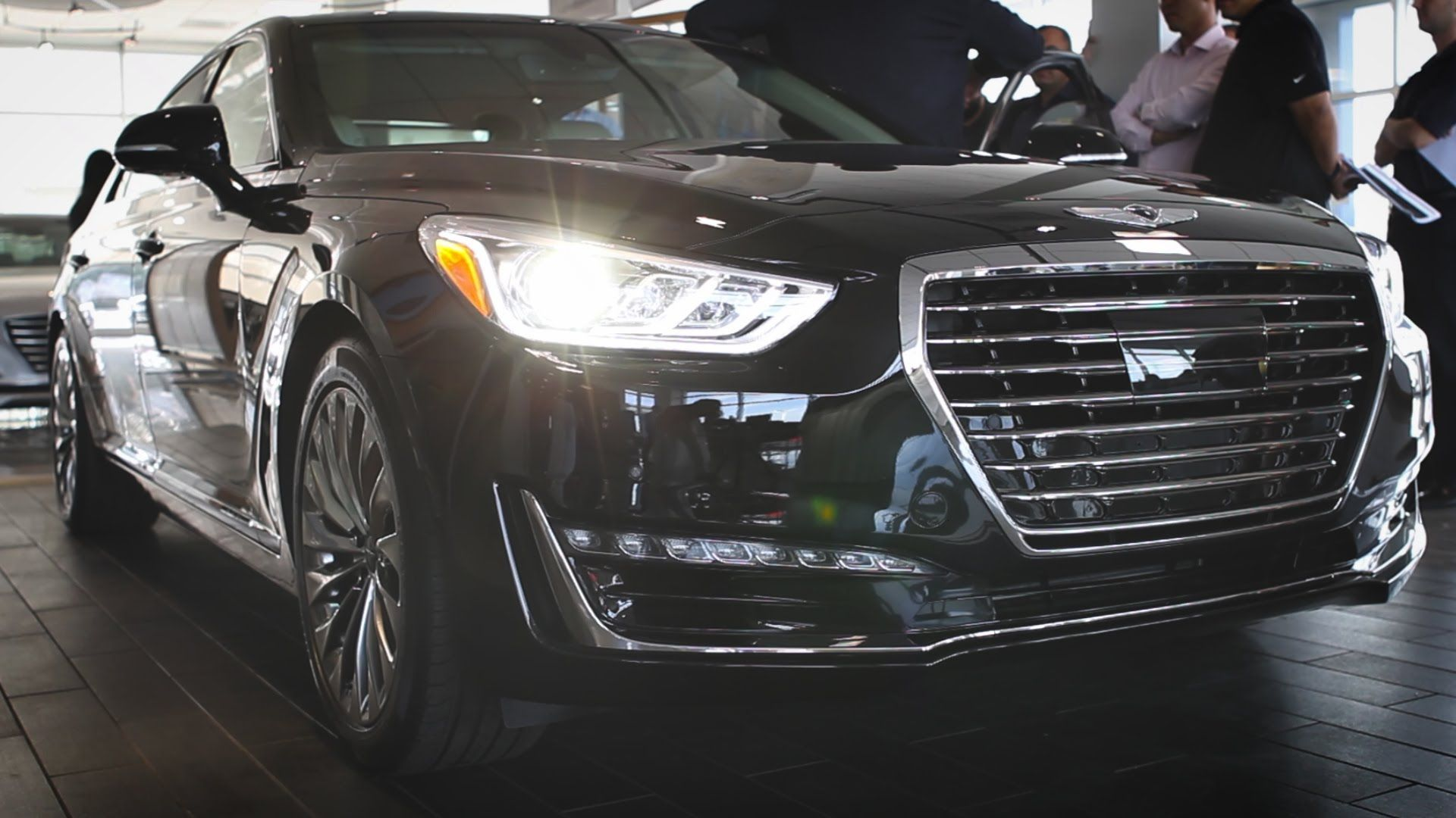 The Genesis Flagship Luxury Sedan Is Almost Here Capitol Hyundai Would Like To Formally Introduce You To The 2017 Genesis G90 D Luxury Sedan Hyundai Sedan