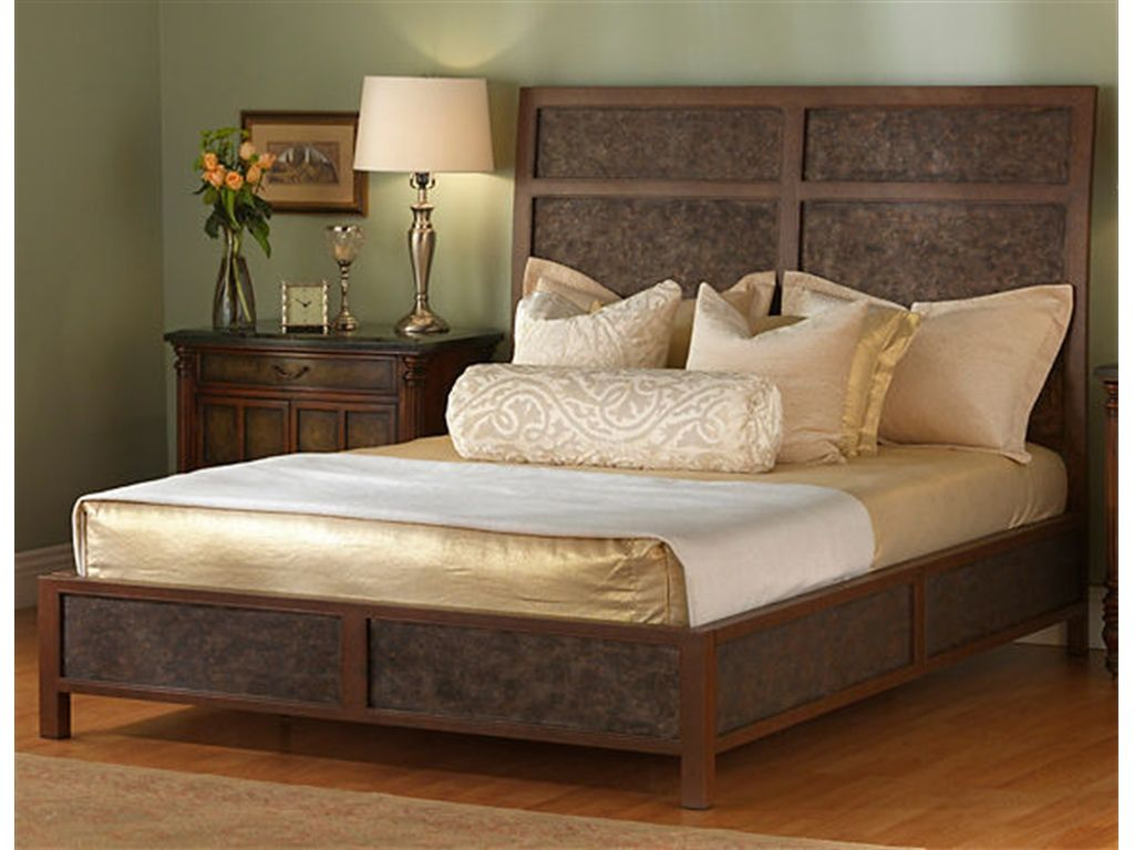 Wesley Allen Bedroom Jasper Complete Bed - Woodley\'s Furniture ...