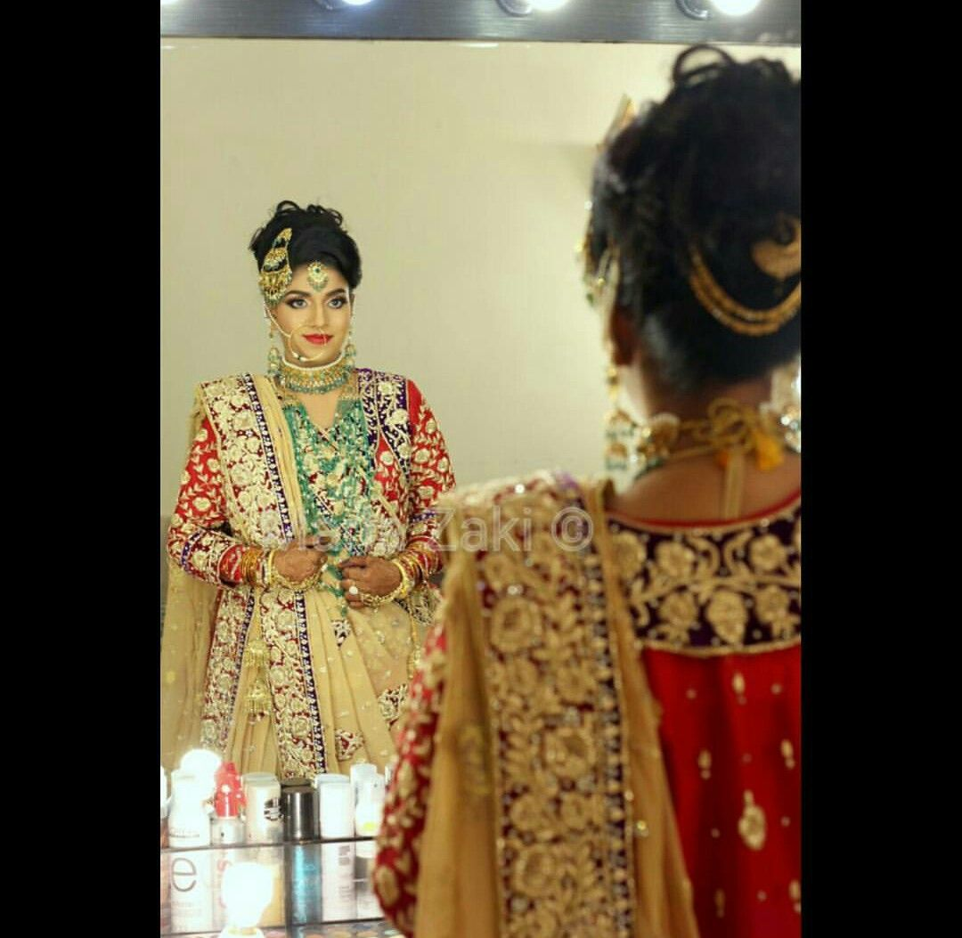 khada dupatta | khada dupattas and hyderabadi brides | pinterest