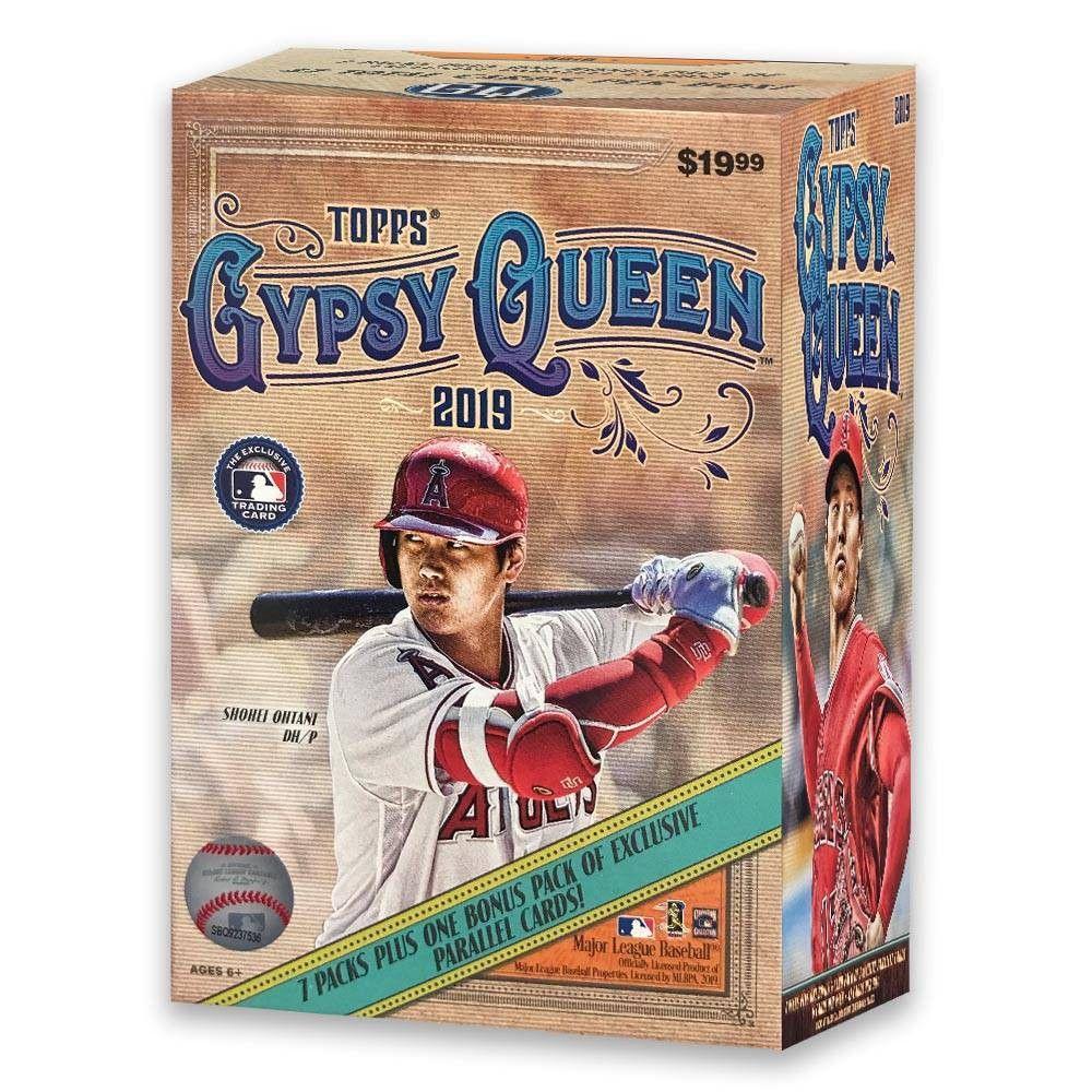 Mlb Topps 2019 Mlb Gypsy Queen Baseball Trading Card Blaster Box In