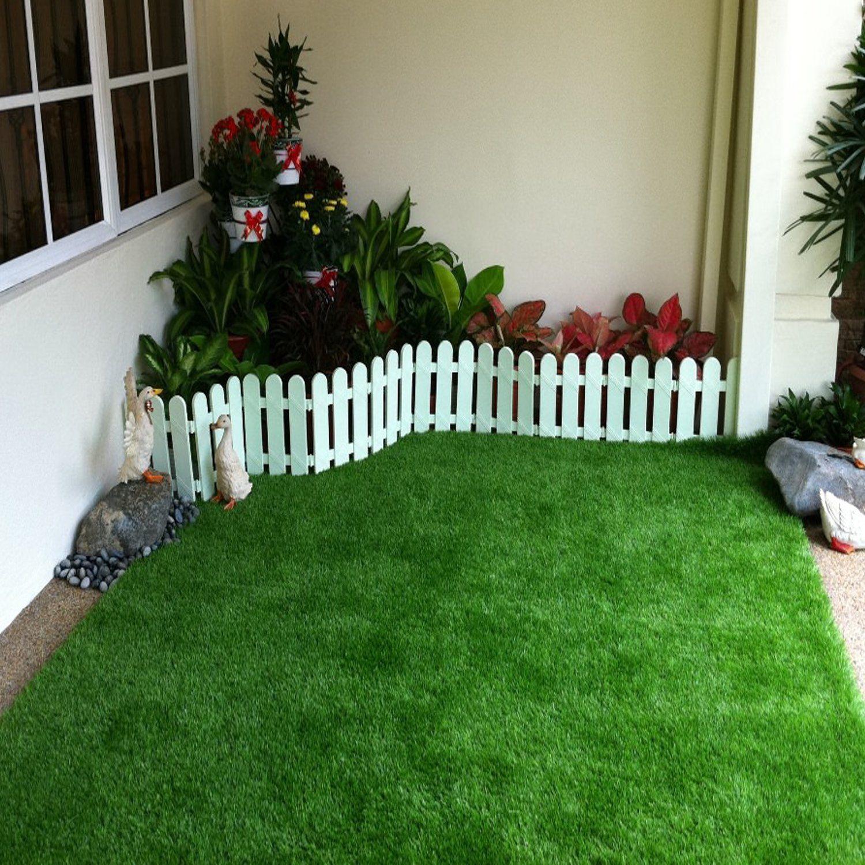 QYH 3.3ft x 5ft 3.3x 5 Artificial Mat Fake Grass Turf