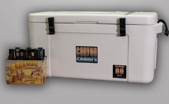 Canyon Coolers Keep Loyal Followers Cold Comfortable And Inspired The Canyon Cooler Products Are Technically Advanced Canyon Coolers Ice Chest Cooler Cooler