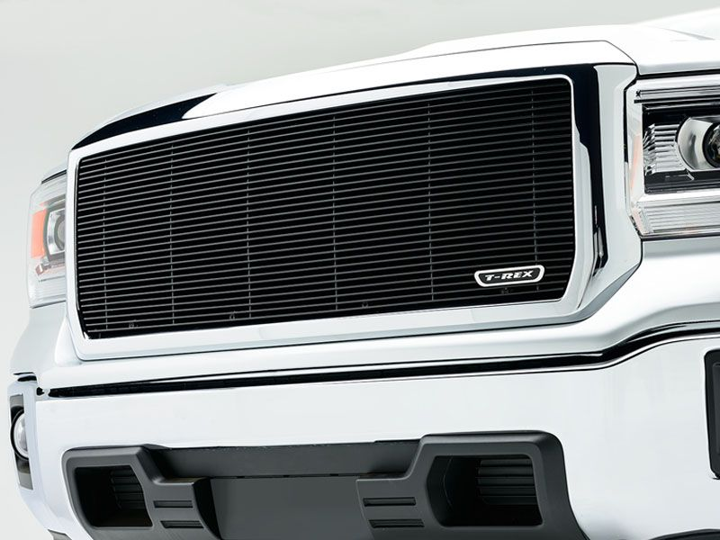 2014 2015 Gmc Sierra 1500 Billet Grille Black Insert By T Rex Gmc Sierra 1500 Gmc Accessories Gmc Sierra