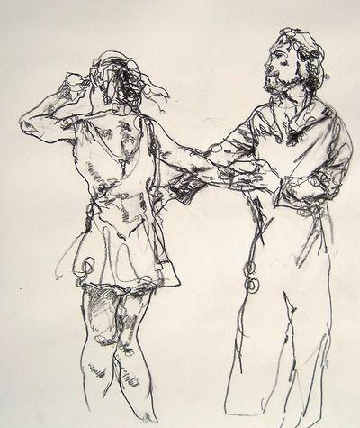 Couple Dancing, nyc. Gregory Muenzen