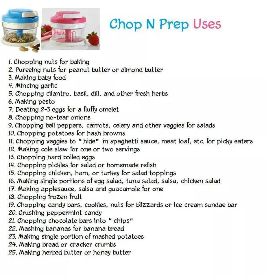 Tupperware Chop N Prep Uses Www.beckyfrench71.my