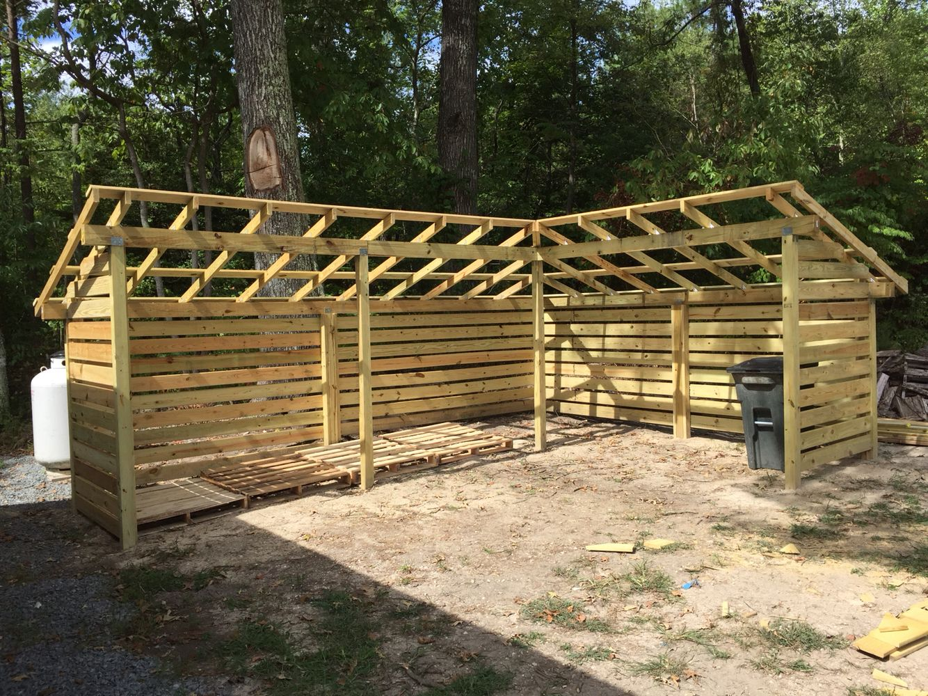 High Quality My Firewood Shed, Woodpile, Stacking Wood