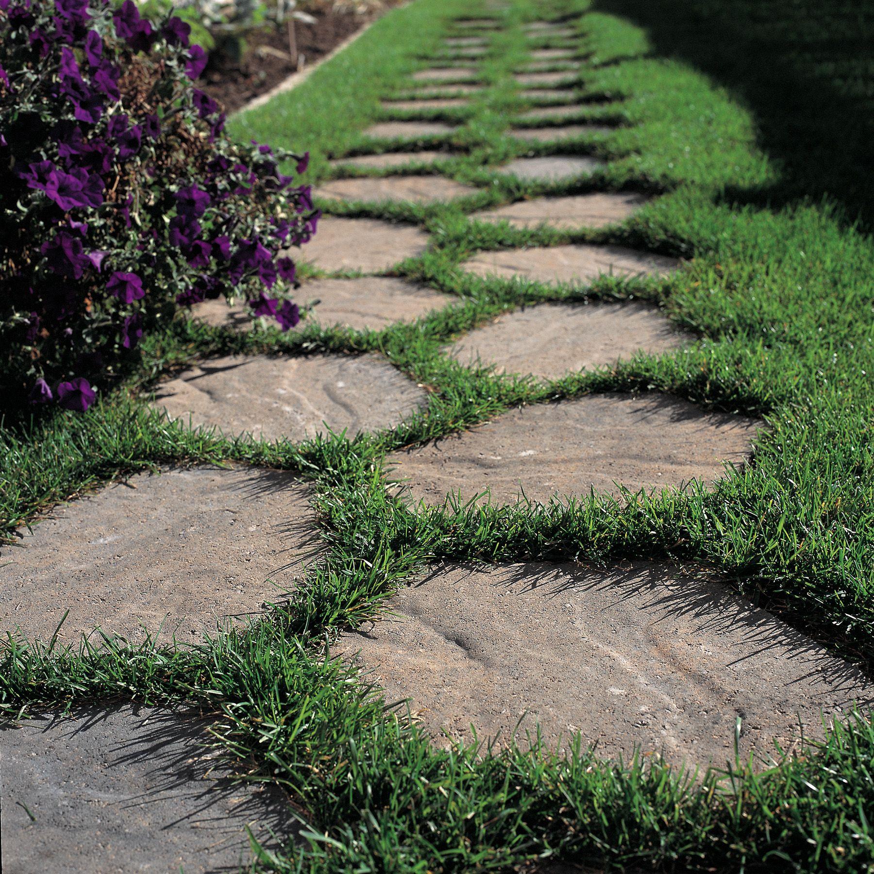 Quarry Stone stepping stones. #BURNCO   Landscape stepping ...