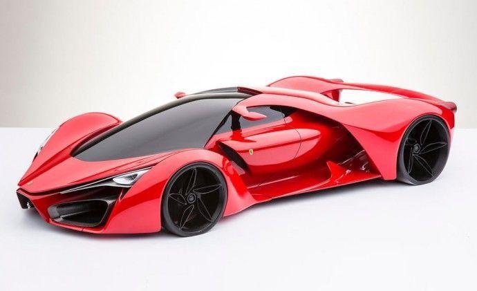 Futuristic super car
