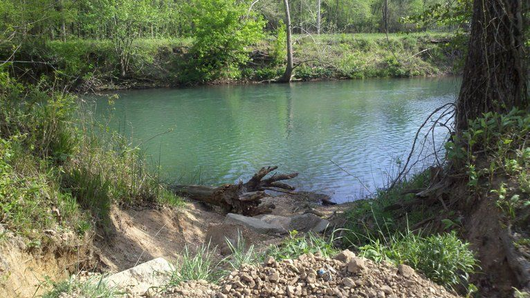 Indian Creek In Mcdonald County.