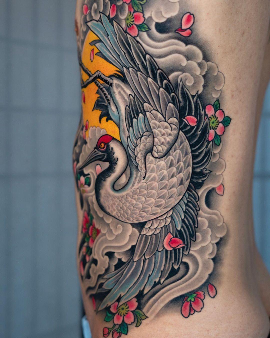 Ghim Của Naige Tren Tattoos Trong 2020 Hinh Xăm Hinh Xăm Con Cong Hinh Xăm Nhật