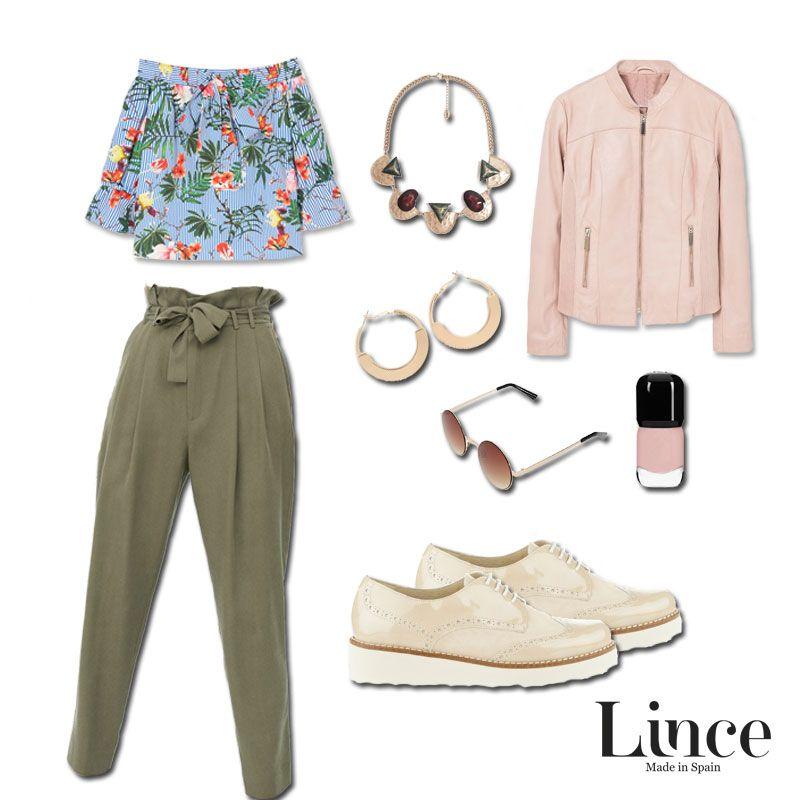 ¿Outfit en tonos nude y militar? Atrévete a conocerlo en nuestro blog con los nuevos mocasines Lince Shoes de serraje y charol de piel ➤ http://bit.ly/2oFD7m5