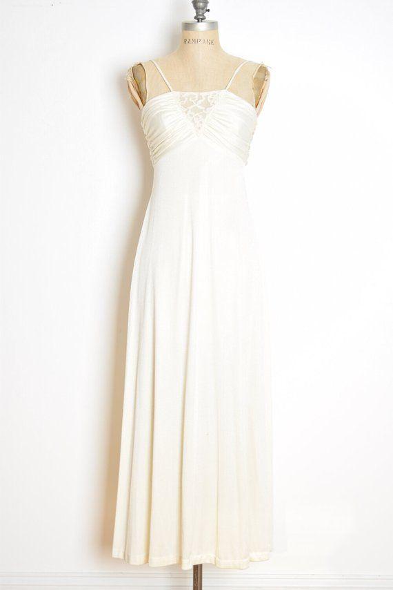 5bbd0f3fe86 vintage 70s hippie dress cream boho wedding long maxi sun dress gown ...