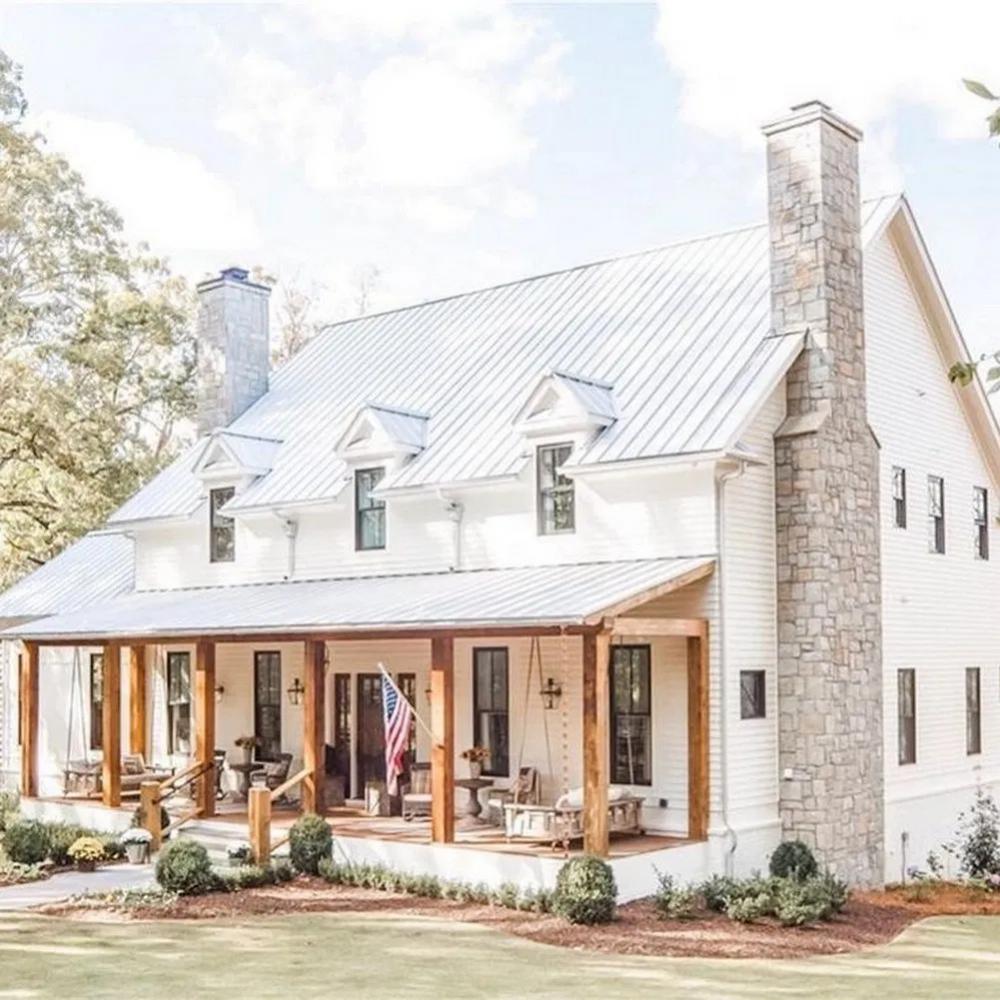Farmhouse Exterior Design Ideas In 2020 Dream House Exterior Modern Farmhouse Exterior Farmhouse House