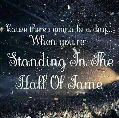 The Script Hall Of Fame And The World S Gonna Know Your Name