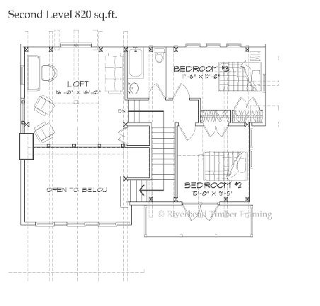 Riverbend Timber Framing: Bridgewater Home Plan   Mon chalet ...