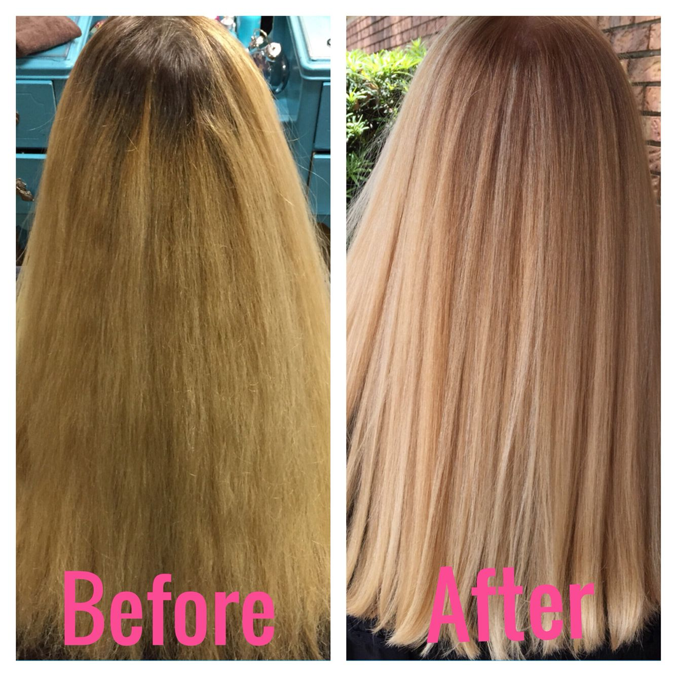 Box Color vs. Salon Color Years and Years of over processed hair ...