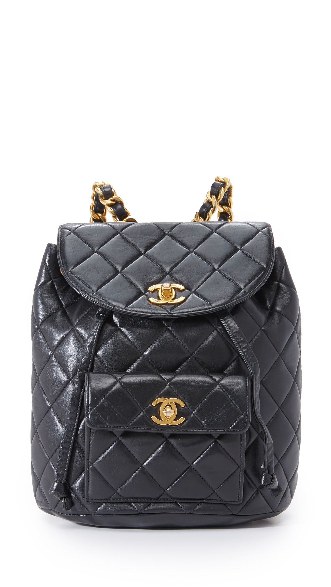 dfdb60a70e5c What Goes Around Comes Around Chanel Classic Backpack (Previously Owned)