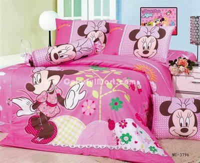 Minnie Mouse Pink Disney Bedding Sets - $99.99 : Colorful Mart ...
