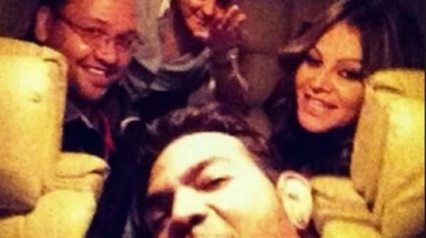 Jenni Rivera  In December of 2012 Mexican pop star Jenni Rivera and her entourage took this selfie right before taking off on a private jet which sadly crashed and left no survivors.