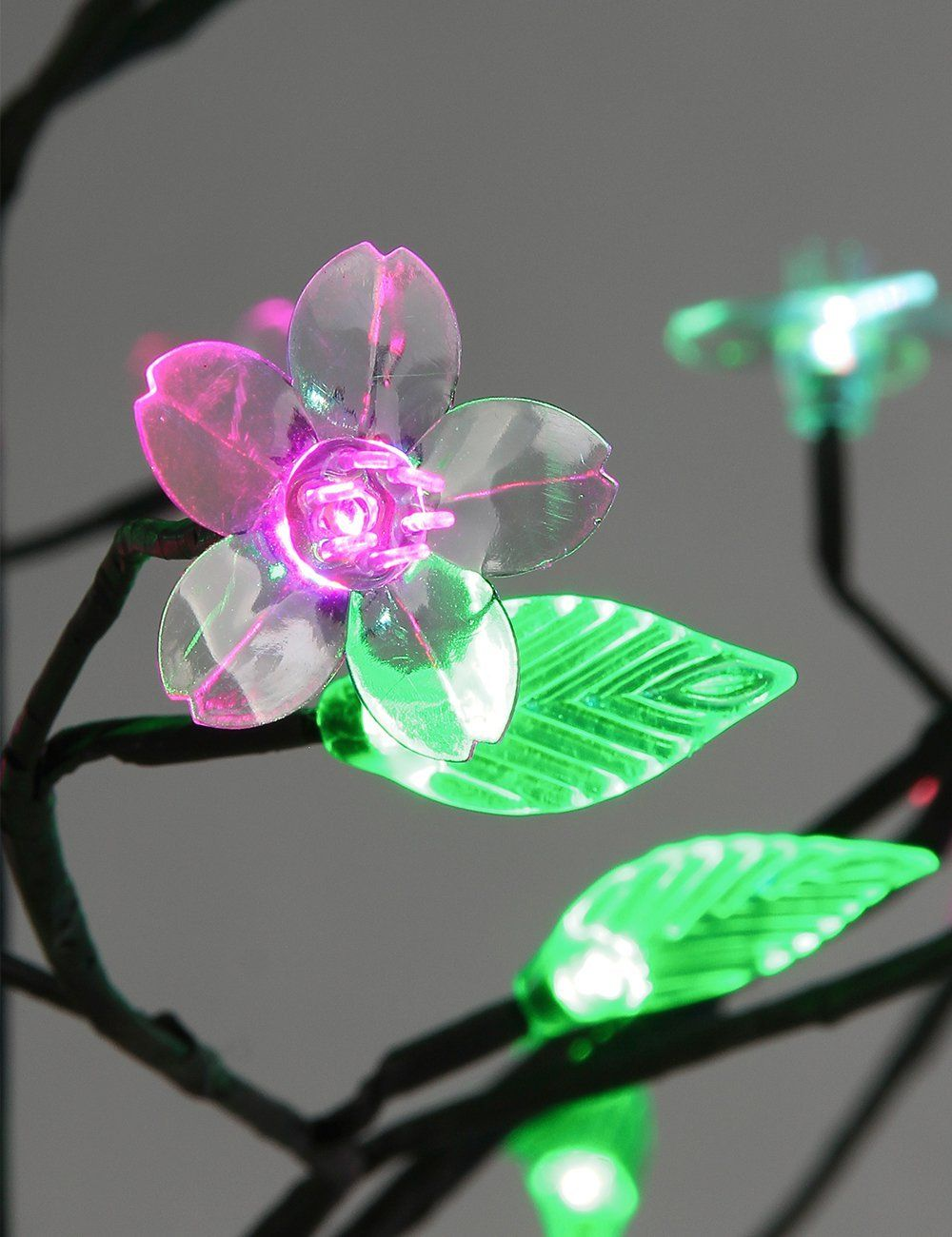 Beautiful color changing led light tree for home decor and holiday ...