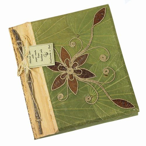 Teak Leaf Journal: Handmade in Bali  I have some of these journals and love them.