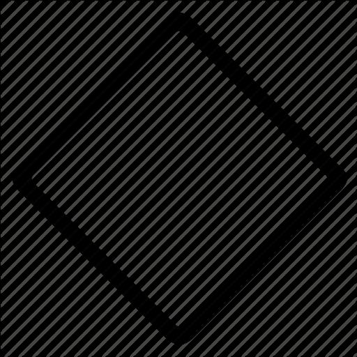 Diamond Shape Outline Png Diamond Shapes Svg Shapes Shape Coloring Pages