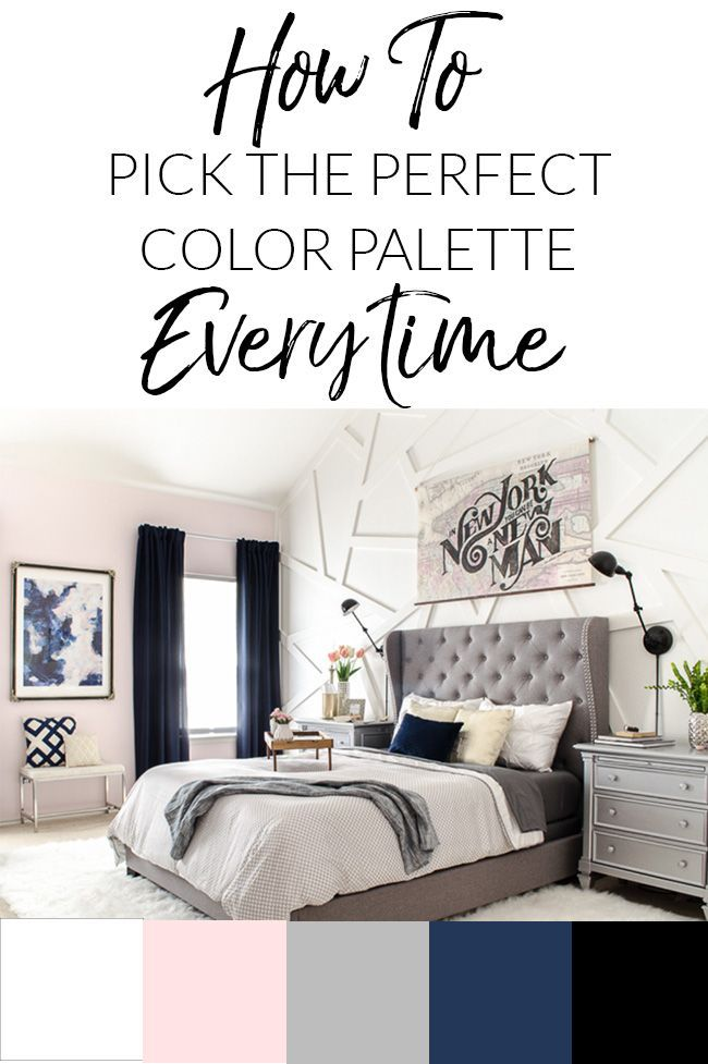 The THIRD Step of Decorating - Finding Your Color Palette