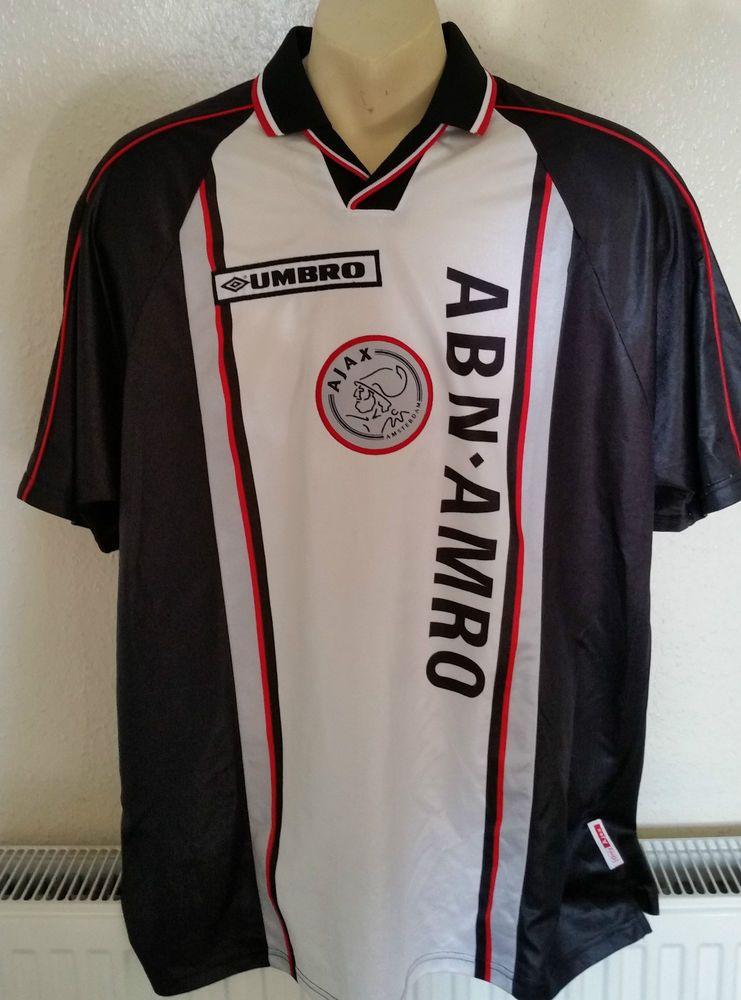 AJAX Amsterdam vintage football shirt jersey trikot 1998