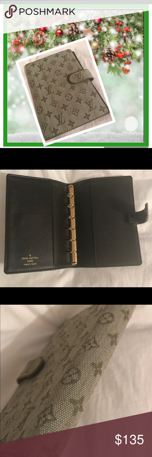 Authentic Louis Vuitton Agenda Pm Planner Preloved In Good Condition With Some Cosmetic Louis Vuitton Agenda Louis Vuitton Agenda Pm Authentic Louis Vuitton