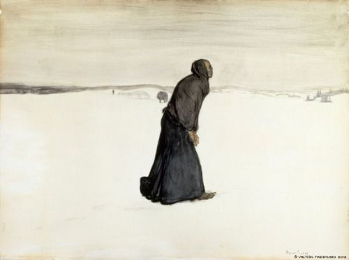 Magnus Enckell Kuoleman vaellus