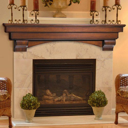 Have a fireplace wall to design for a client who loves rustic/nature inspired design.  I want to take this and distress it to give it classical lines with the juxtoposition of natural distress.