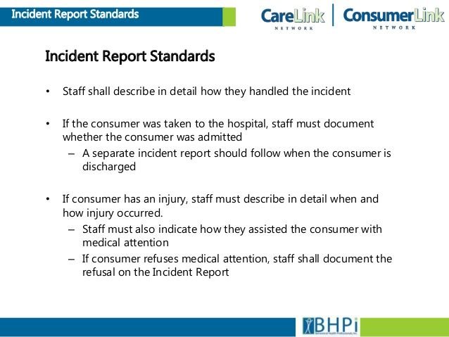 What Is It Incident Report Incident Report Template Incident Report