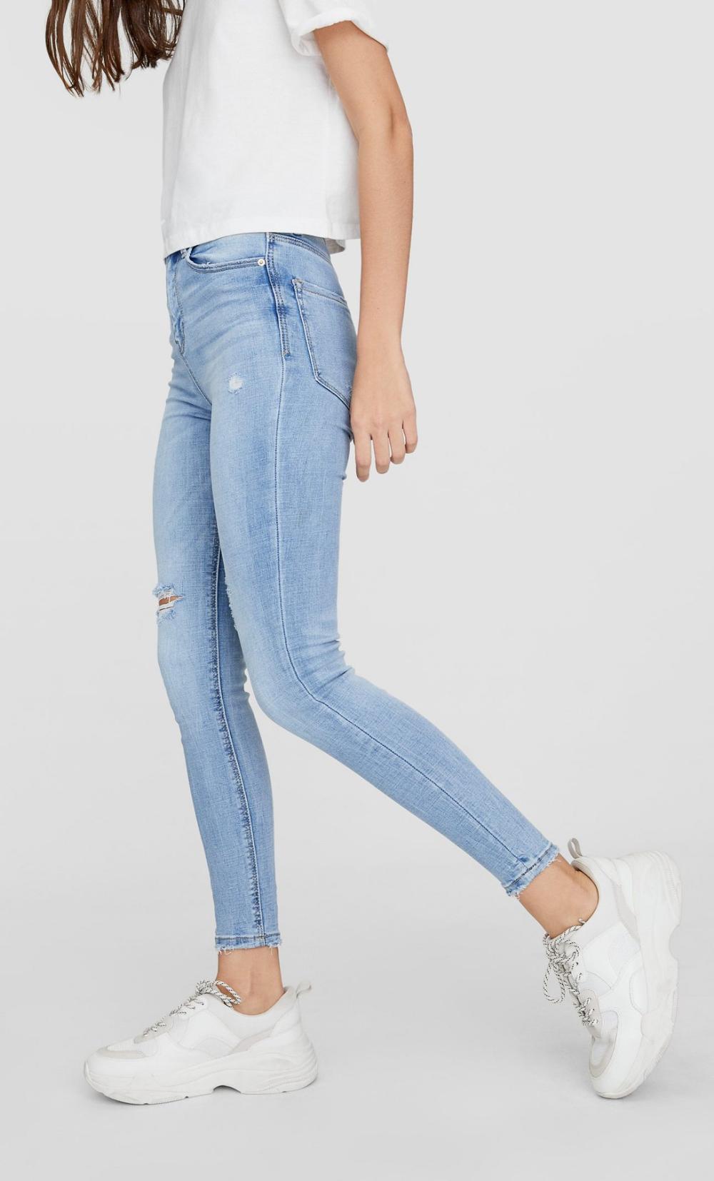 Pin De Melina Gutierrez G En Ropa Jeans De Tiro Alto Ropa Jeans Skinny